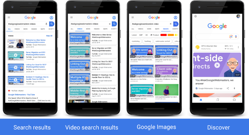 Adding Video Structured Data Receives Video Rich Snippets