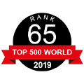 Ranked 65 in the top 500, 2019 by NGO Advisor